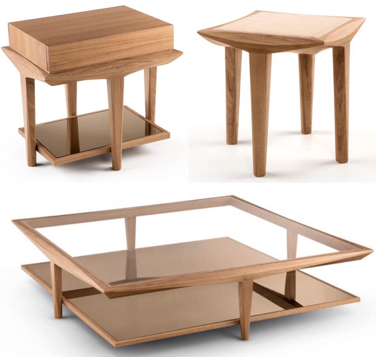 Novo Ambiente recebe linha de móveis assinada pelo designer Luia Mantelli.