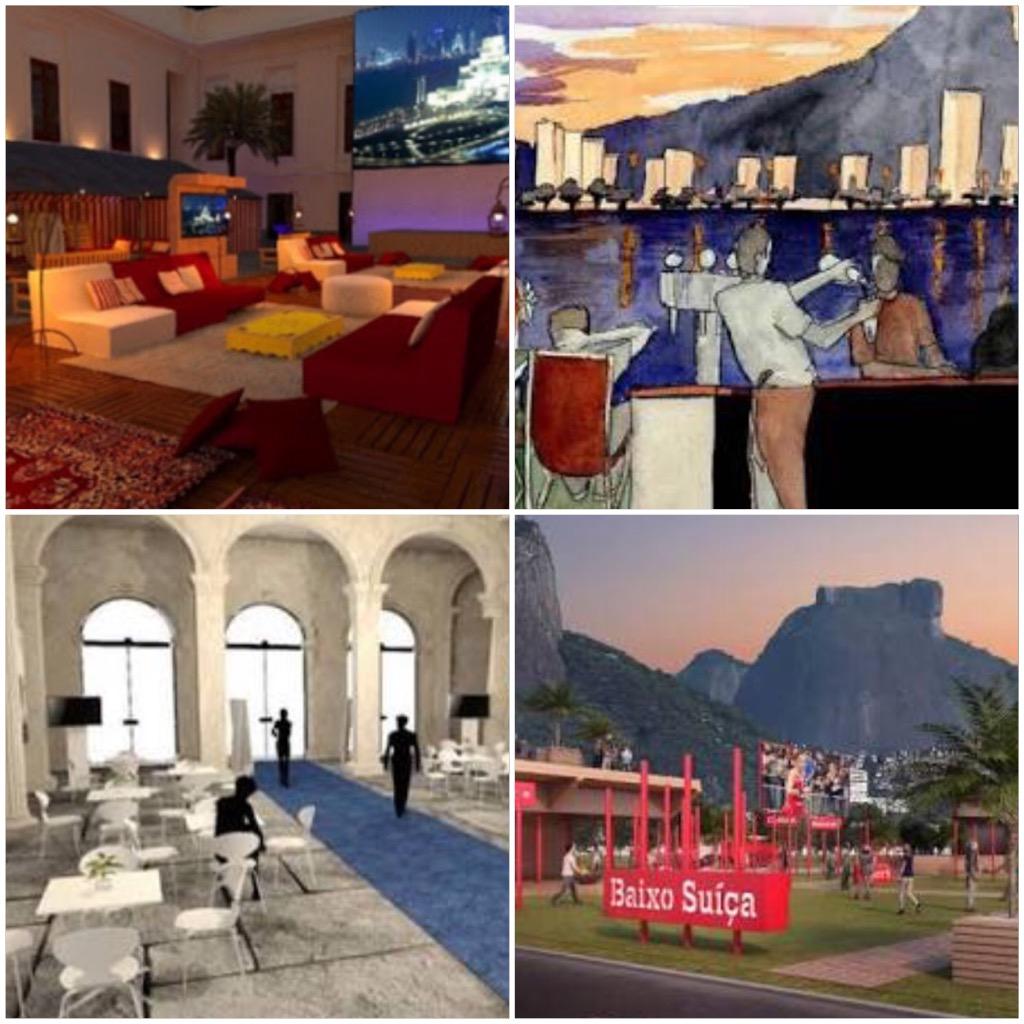 Guia das casas temáticas dos países durante o Rio 2016