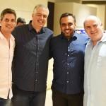 Alysson Pereira Claudio Brandao Luiz Claudio Ceia e Joel Uderman
