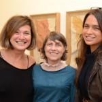 Andrea Prado, Brigida Baltar e Maria Espirito Santo