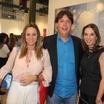 IMG_2567 Os anfitrioes, Monica Borges , Roberto Borges e Esther Scattan