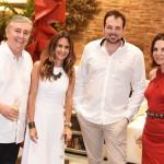 Adolfo Fuzinatto Cris Medici Mateus Corradi e Patricia Mayer