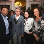 Alex Stevens (Diretor de Relacionamento e Operações CASACOR Miami) Giselle Taranto e Patricia Quentel_rj_Crédito Davide Berri