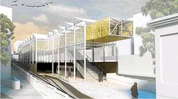 Projeto para estação do trenzinho