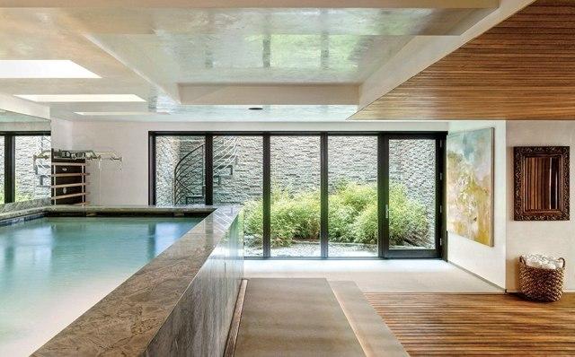 Sobre piscinas internas