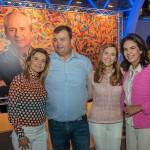 Flavia Marcolini, Bruno Marcolini, Fernanda Marcolini e Joy Garrido