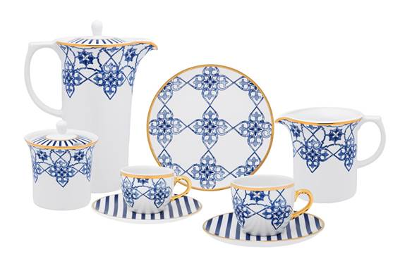 Nova linha de porcelanas da Carioca de Cor