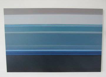 Lúcia Glaz apresenta série de pinturas na Almacén Thebaldi