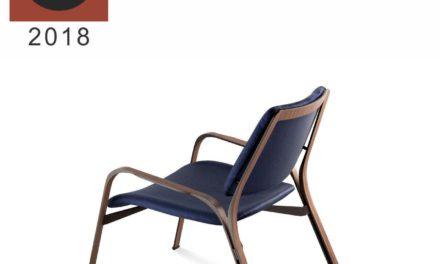 Poltrona Emme da Tecline é vencedora no Good Design Award 2018