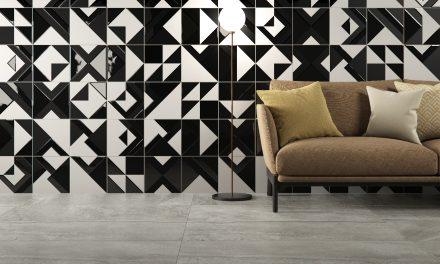 Eliane Revestimentos se inspira na arte da azulejaria modernista na Coleção Patch Brasília