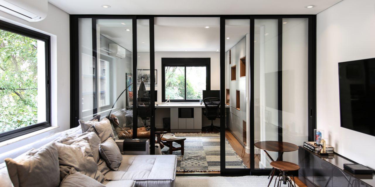 Projeto de reforma de apartamento nos Jardins – São Paulo