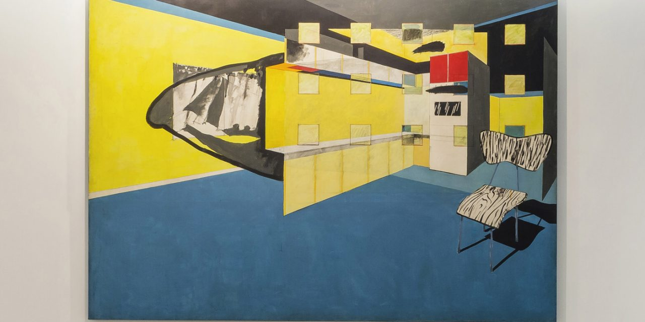 Luiz Paulo Baravelli na Galeria Marcelo Guarnieri, em São Paulo