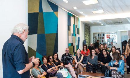 Trama Tapetes recebe convidados para um talk com Antonio Bernardo