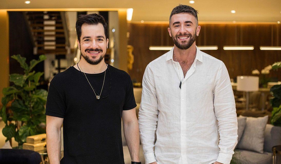 Os designers Giacomo Tomazzi e Murilo Weitz comandaram talk na Breton Salvador