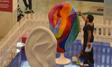 Esculturas gigantes de orelhas vão invadir ruas e praças de São Paulo a partir de amanhã (24)
