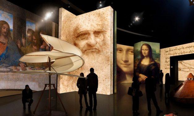 """A exposição """"Leonardo da Vinci – 500 anos"""" no Museu da Imagem e do Som de São Paulo"""