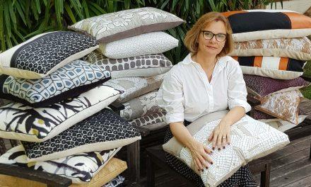Designer da Almofadaria Paramento lança coleção no Studio Grabowsky,