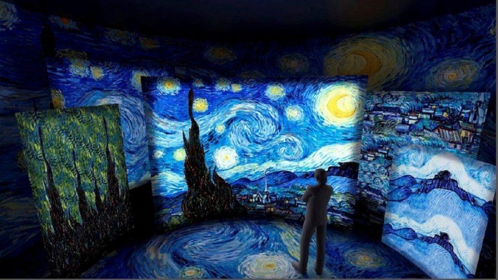 Exposição inédita, imersiva e gratuita de Van Gogh chega ao Brasil