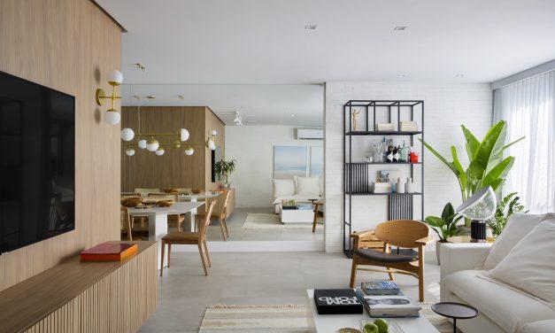 Beta Arquitetura assina projeto de apartamento no Rio de Janeiro