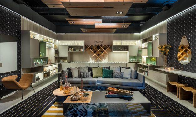 Pinturas artísticas e diferentes texturas transformam tetos da CASACOR Rio em mais uma atração dos ambientes