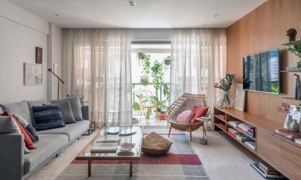 Apartamento projetado por Luiza Bottino e Valeska Ulm vira pouso de férias no Rio.