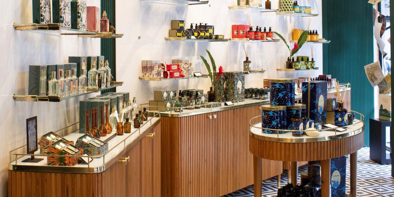 escritório ouriço arquitetura assina projeto da primeira perfumaria granado.