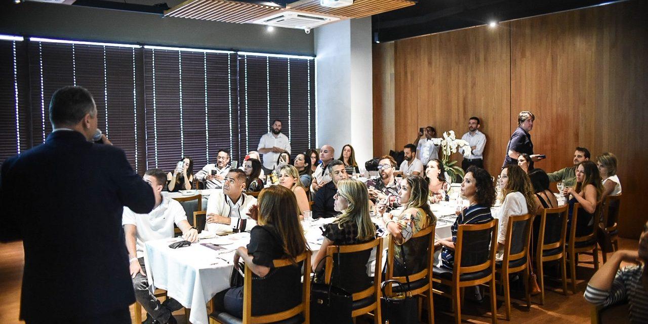 As marcas Daikin e Lunal Facilities em almoço de confraternização, no CasaShopping