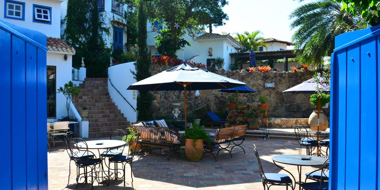 Hotel Vila da Santa – Búzios: com atmosfera que remete a Riviera Francesa e arquitetura europeia