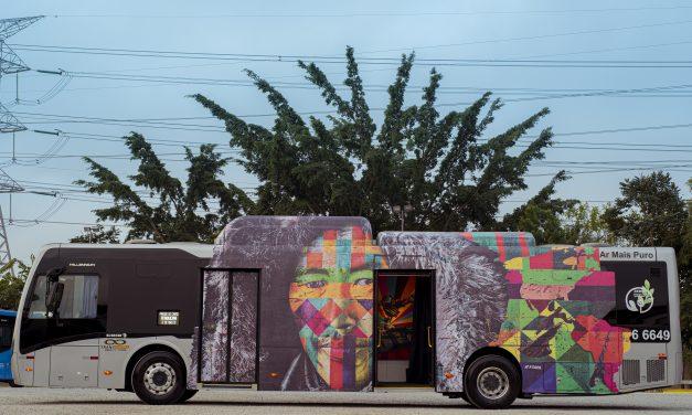"""O artista plástico Kobra e seu projeto """"Galeria Circular"""""""