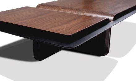 Acervo: coleção de mesas da Ellipse – design Ále Alvarenga
