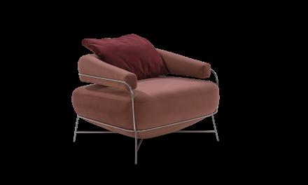 Acervo: Poltrona Tamboril e Chaise Winding – Design: Mauricio Bomfim