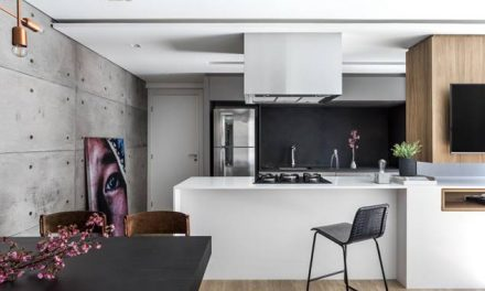 Curitiba: Apartamento de 65 m² ganha amplitude para família em crescimento