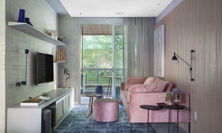 """Up3 Arquitetura assina apartamento com estilo """"Escandinavo à carioca"""", em Niterói – RJ."""