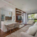 a arquiteta Monise Rosa assina décor de um apartamento em São Paulo