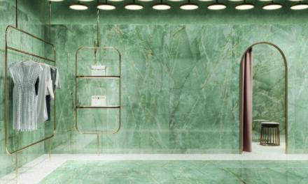 Tendência, o verde é destaque nas linhas da Roca Cerámica
