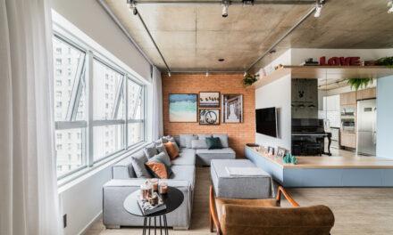 São Paulo: Liv`n Arquitetura assina projeto de apartamento em estilo industrial