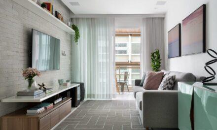 Niterói – RJ: a arquiteta Amanda Miranda assina o décor de um apartamento em Icaraí