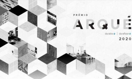 Inscrições para o Prêmio Arqué terminam no dia 11 de outubro