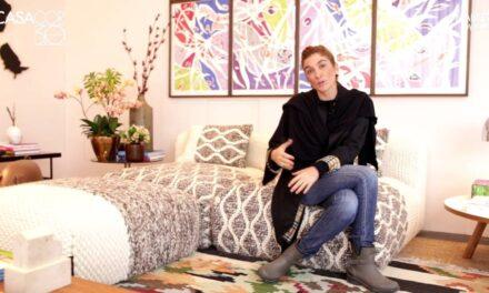 Designer de interiores Marina Linhares lança livro em encontro online