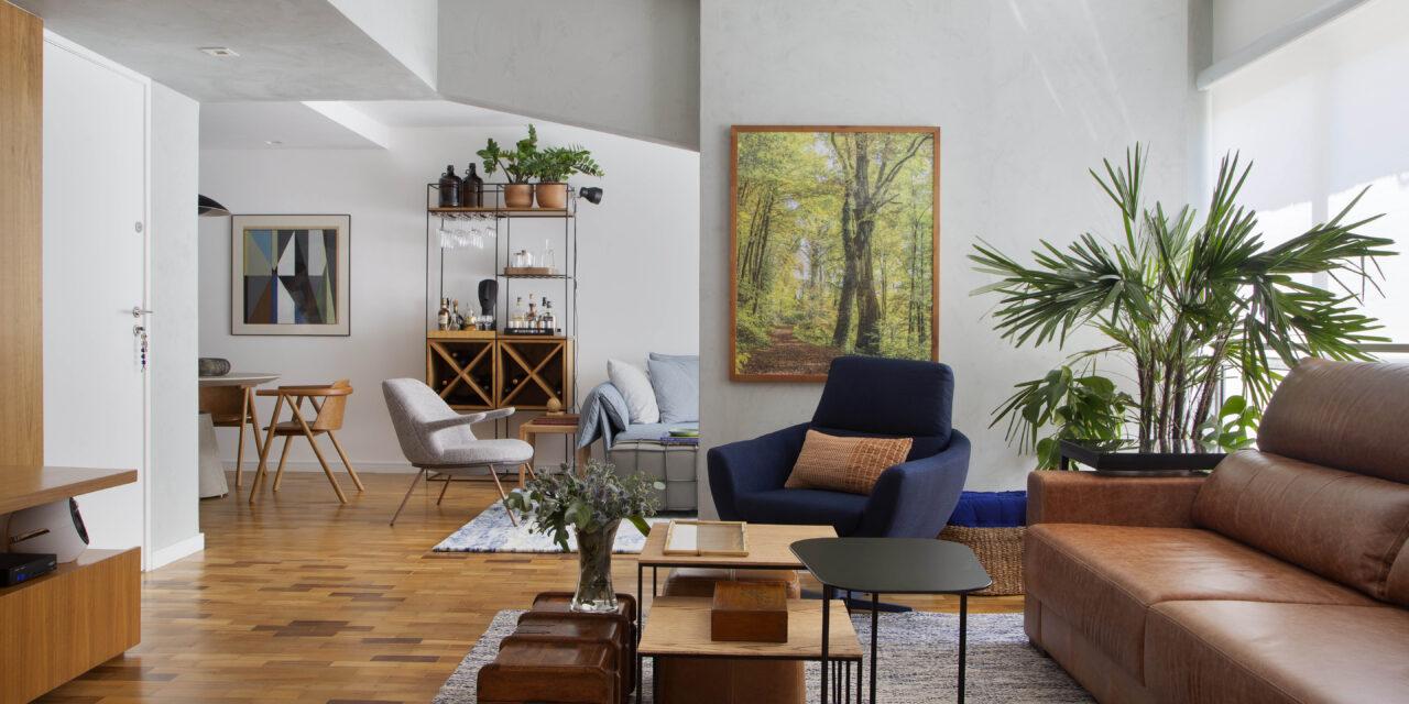 Arquiteta KELLY FIGUEIREDO projeta apartamento em Ipanema para um médico de 75 anos