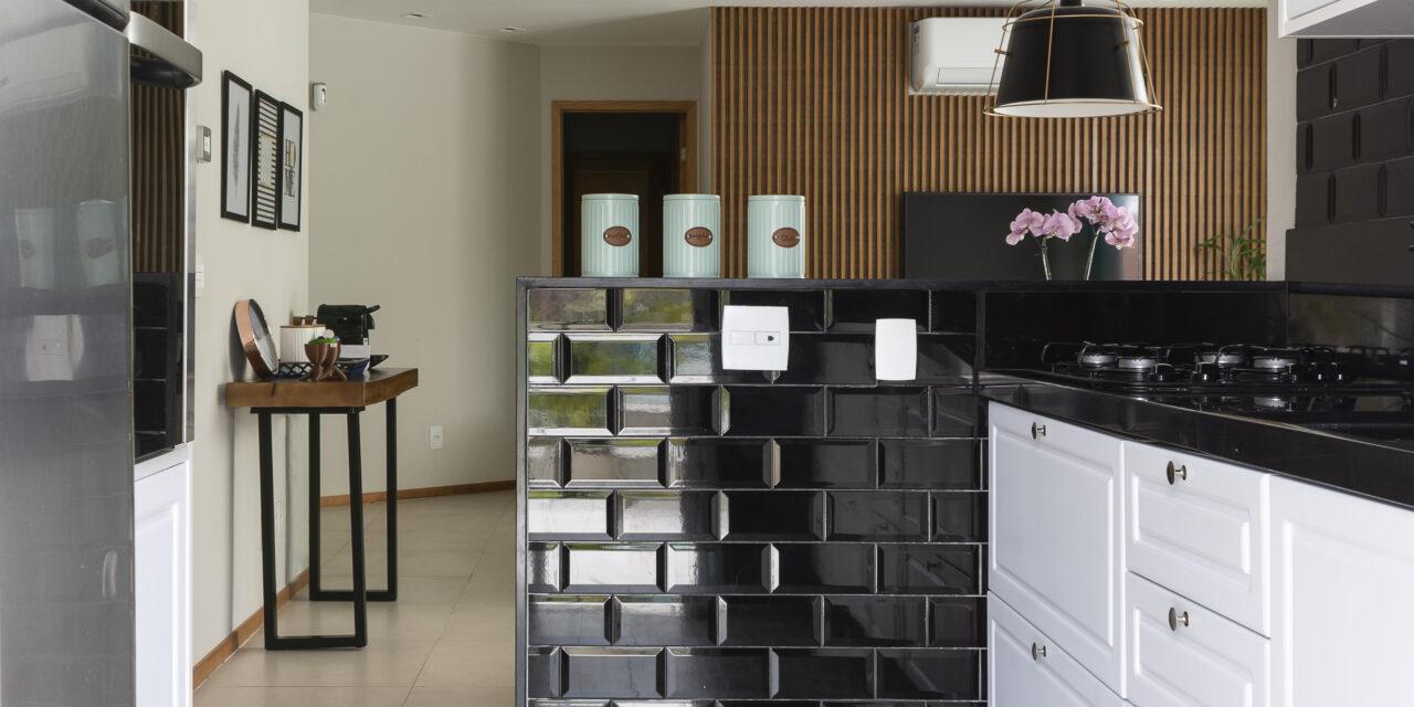 Integração e funcionalidade no projeto de um apê de 90 m2, da arquiteta Jessica Corrêa