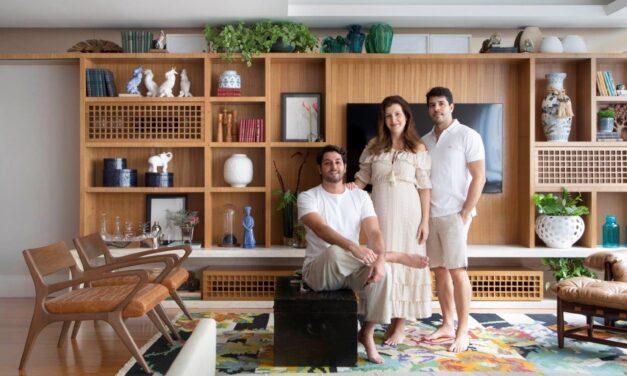 NOP Arquitetura assina projeto de um apartamento de 212 m2, em Icaraí – Niterói.