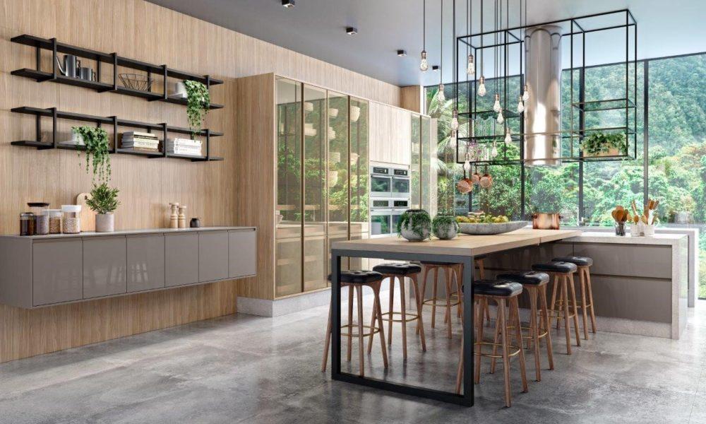 Áreas gourmet protagonizam projetos de arquitetura e decoração