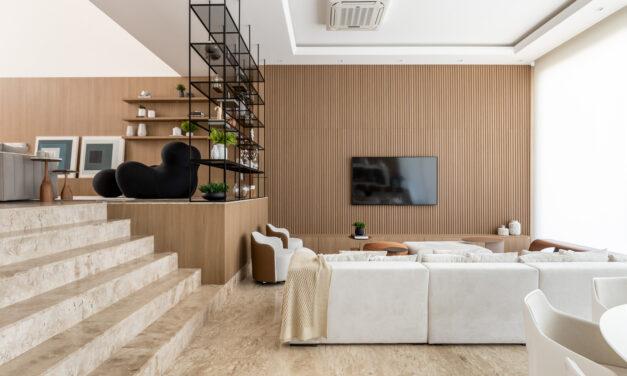 escritório Maraú Design assina o décor de uma casa de 735m2, em Porto Alegre