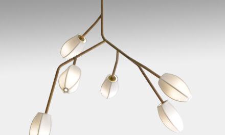 Cris Bertolucci lança o pendente Sacurá, inspirado no desenho dos galhos da cerejeira