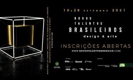 A Exposição Novos Talentos Brasileiros para designers chega em sua 6ª edição.