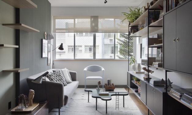 O novo lar do casal Ricardo Melo e Wilson Konig