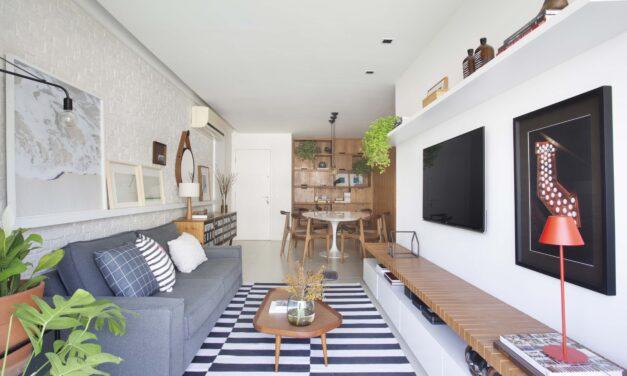 A+G Arquitetura assina projeto de um apartamento na Barra da Tijuca