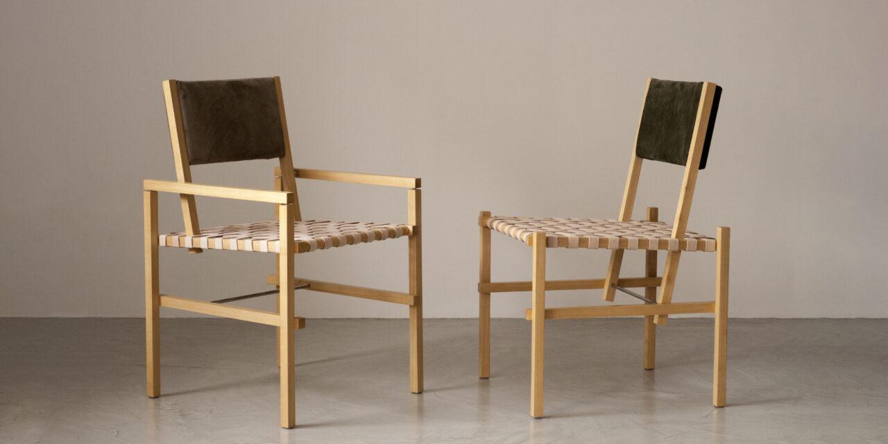 Conheça a nova coleção de cadeiras e poltronas assinada por Bruno de Carvalho
