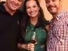 Pedro Szalay, Leila Dionizios e Andre Serra